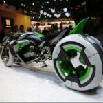 Мотоцикл-трансформер Kawasaki J2