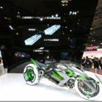 Мотоцикл-трансформер Kawasaki J3