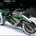 Мотоцикл-трансформер Kawasaki J8