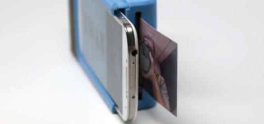На рынок скоро выйдет чехол polaroid для смартфонов в который встроен принтер, благодаря которому ты сможешь распечатывать фотографии на месте, не плохо, правда?