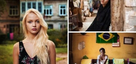 У каждого человека свой идеал женщины, как и в разных странах - разный образ женской красоты.