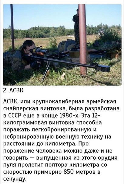 Топ 10 снайперских винтовок