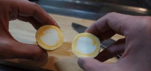 """оригинальный рецепт, как варить куриные яйца """"наизнанку"""". Уверен, ваши гости будут приятно удивлены."""