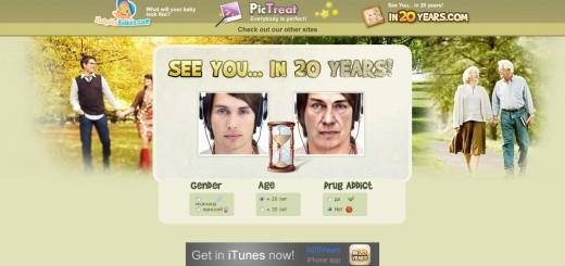 как вы будете выглядеть через 20 лет