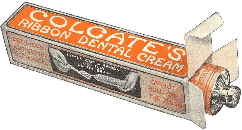 Зубная паста в тюбике