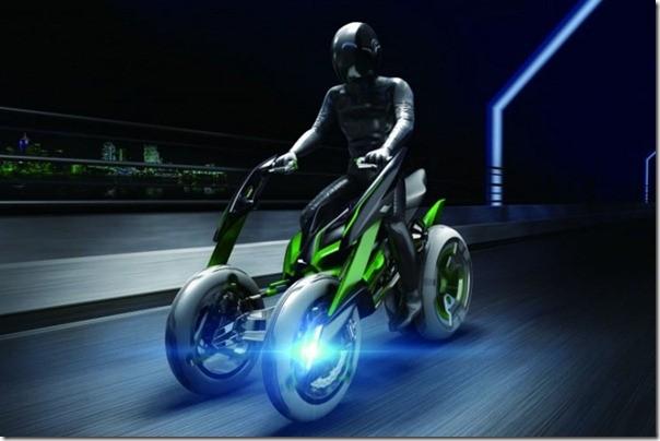 Мотоцикл-трансформер Kawasaki J