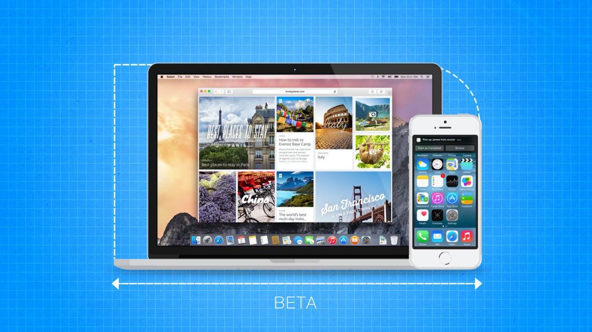 Публиичноое бета-тестирование OS X Yosemite