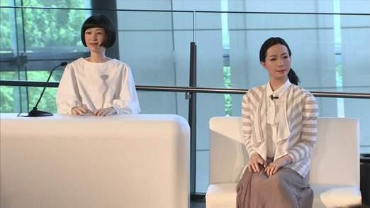 Android, робот-телеведущий