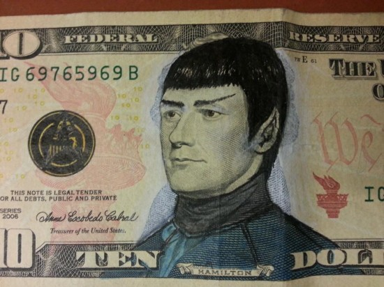 Необычные деньги с супергероями