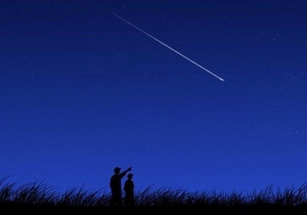 Почему загадывают желание, когда падает звезда?