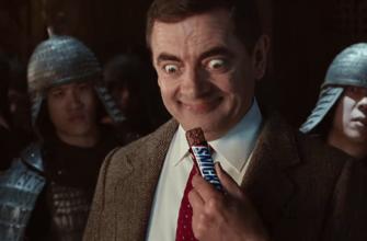 Реклама сниккерс с мистером Бином