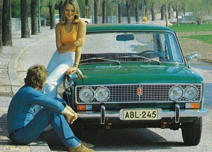 Советский автопром, реклама СССР и США