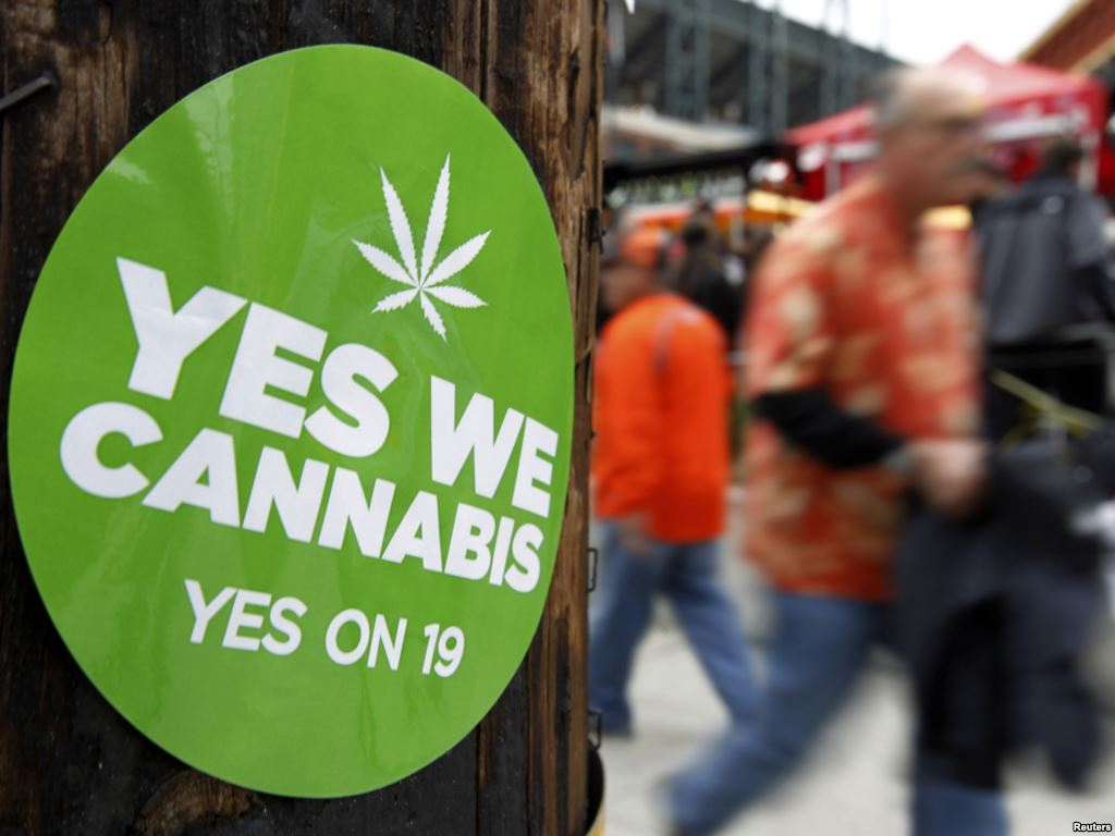 Закон о легализации марихуаны в США со временем стает все популярнее. Теперь он достиг и самой столицы.