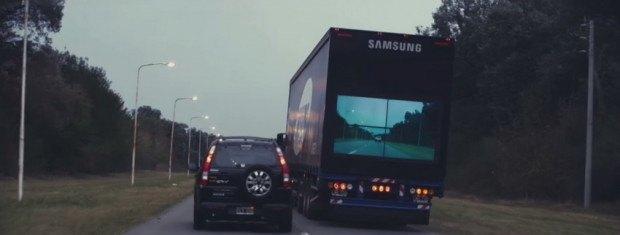 Благодаря такому монитору, безопасный обгон фуры вам гарантирован. Удачи на дорогах.