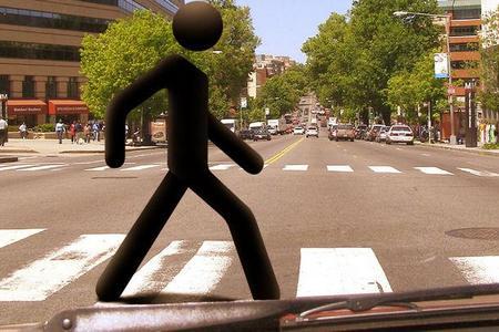 правила перехода дороги