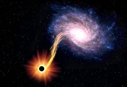 черная дыра самая близкая