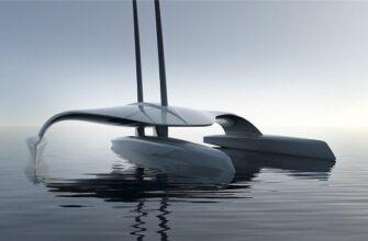 Беспилотное, автономное, научно-исследовательское судно