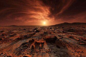 На Марсе были обнаружены большие слои льда