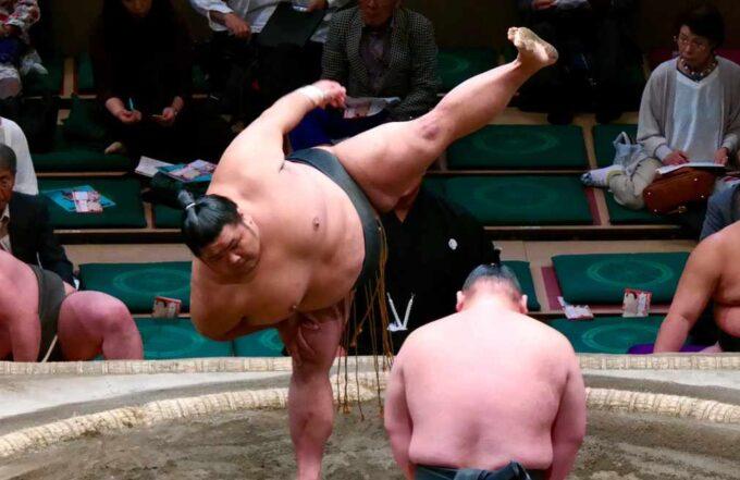 соревнования по сумо